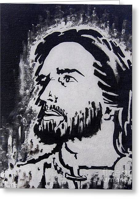 The Son Of God Greeting Card by Greg Moores