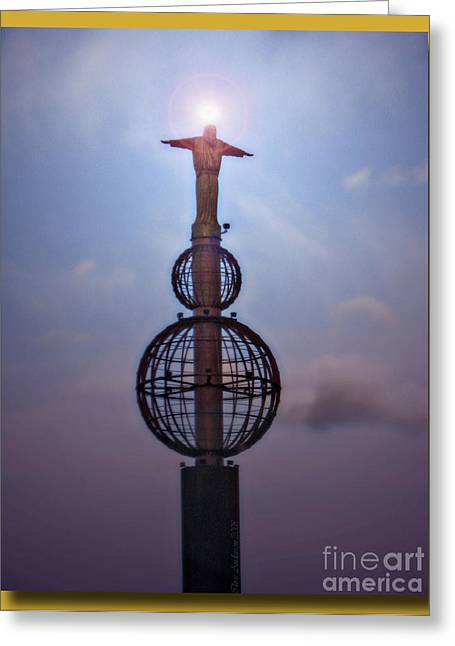 Greeting Card featuring the photograph The Son Rising by Chris Anderson