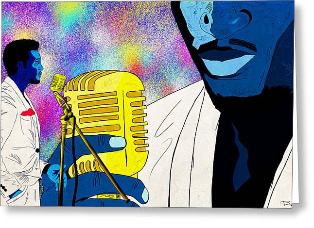 The Soul Singer Greeting Card by Kenal Louis