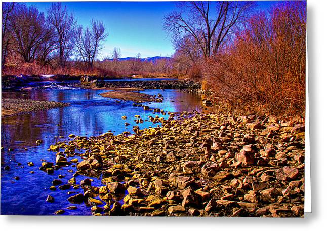 The South Platte River Greeting Card