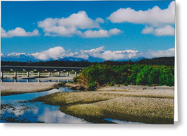 The Southern Alps Greeting Card by Jon Emery