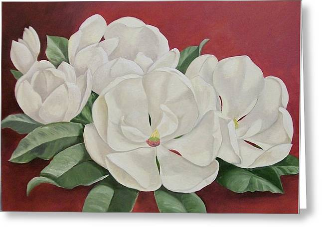 The Southern Beauty Greeting Card