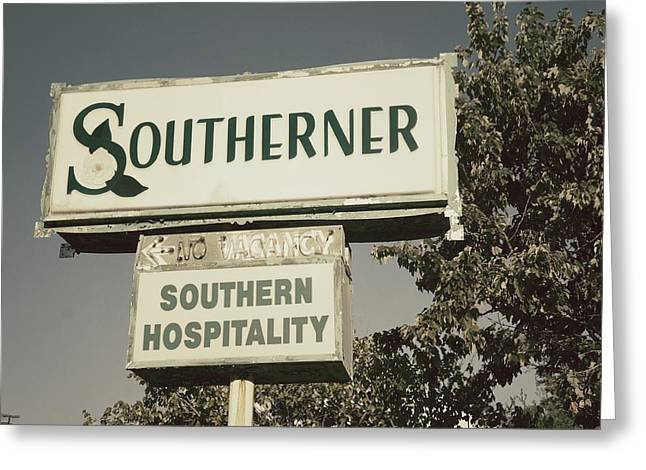 The Southerner Greeting Card by Brandon Addis