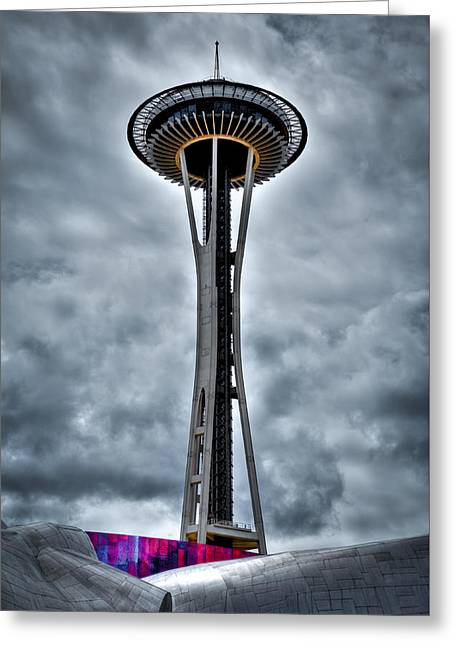 The Space Needle - Seattle Washington Greeting Card