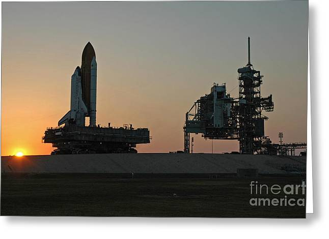 The Space Shuttle Discovery Greeting Card