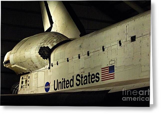 The Space Shuttle Endeavour 12 Greeting Card by Micah May