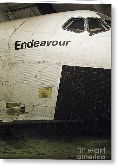 The Space Shuttle Endeavour 13 Greeting Card by Micah May