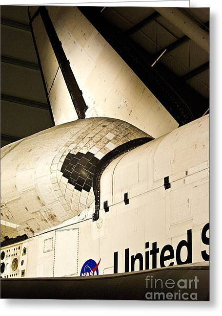 The Space Shuttle Endeavour 14 Greeting Card by Micah May