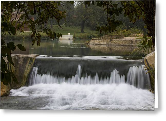 The Spillway Greeting Card