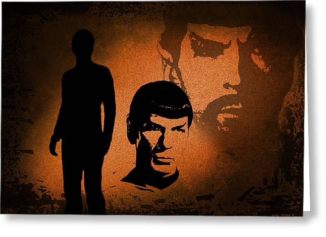 The Spocks Greeting Card