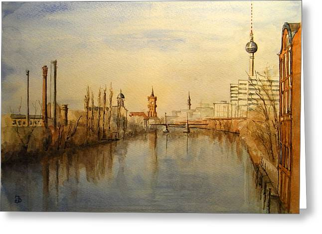 The Spree Berlin Greeting Card
