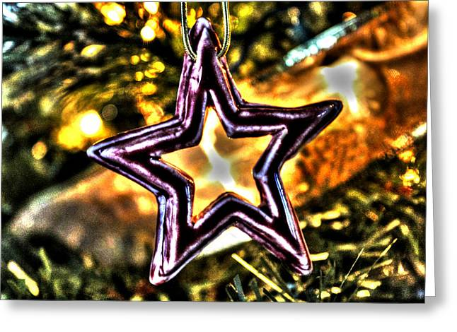 The Star Greeting Card by Ric Potvin