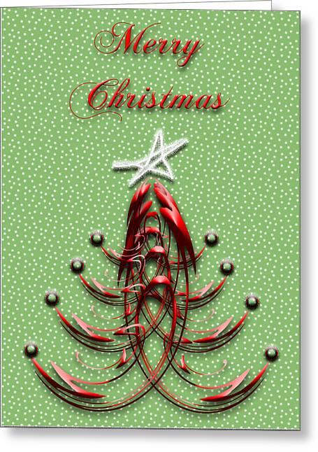The Star Shines Bright Greeting Card by Carolyn Marshall