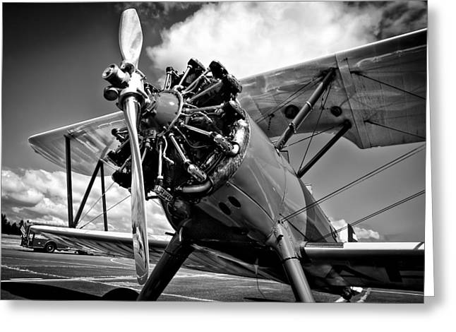 The Stearman Biplane Greeting Card