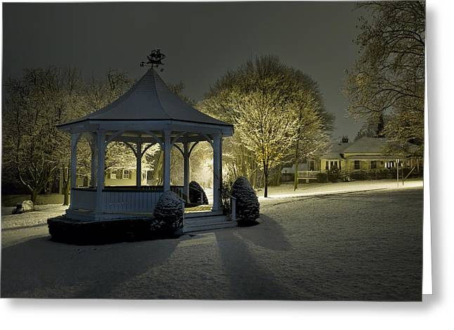 The Still Of Night By Doug Hagadorn Greeting Card by Doug Hagadorn