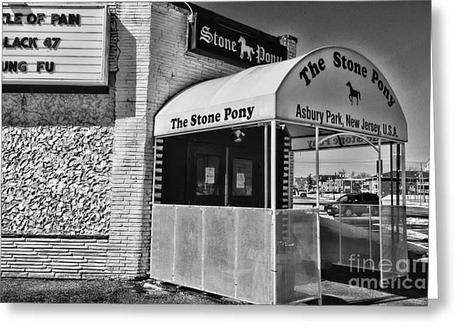 The Stone Pony 1 Greeting Card by Paul Ward