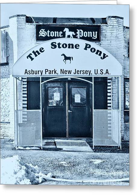 The Stone Pony Cool Greeting Card by Paul Ward
