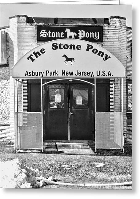 The Stone Pony Greeting Card by Paul Ward