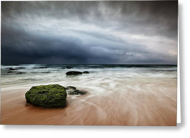 The Storm Greeting Card by Jorge Maia