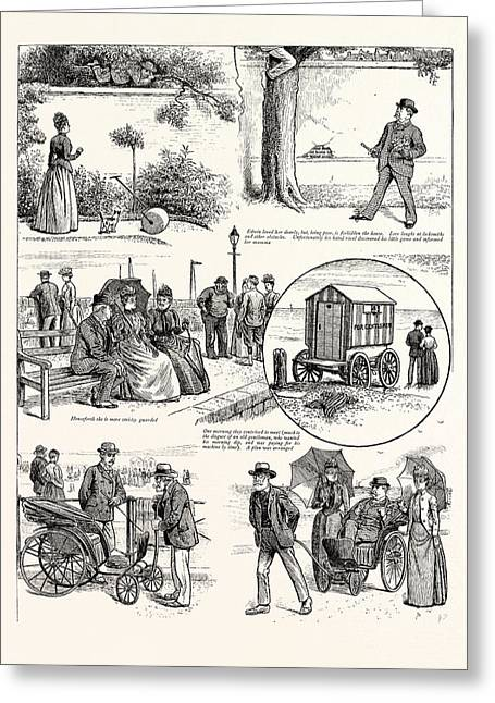 The Story Of A Seaside Elopement Edwin Loved Her Dearly Greeting Card by English School
