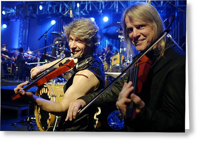 The String Section Greeting Card
