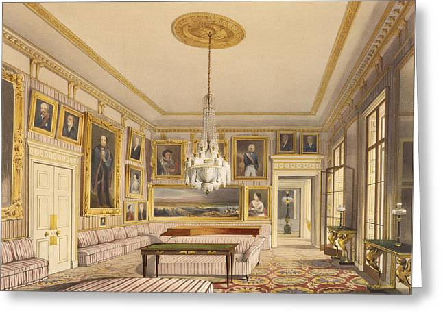 The Striped Drawing Room, Apsley House Greeting Card