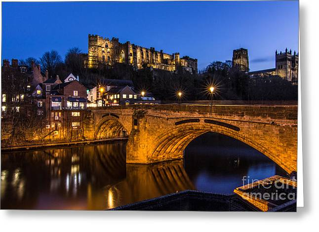 The Stunning City Of Durham In Northern England Greeting Card
