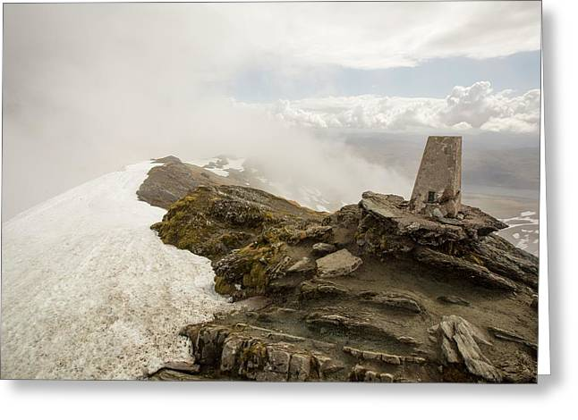 The Summit Of Ben Lawers Greeting Card