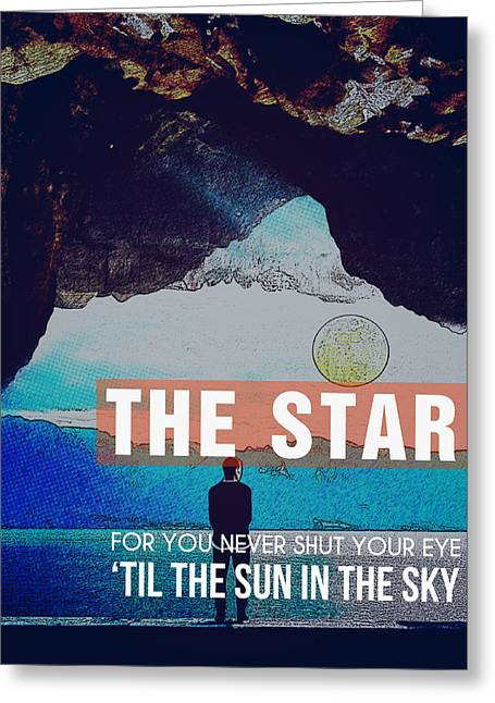 The Sun In The Sky Greeting Card by Celestial Images