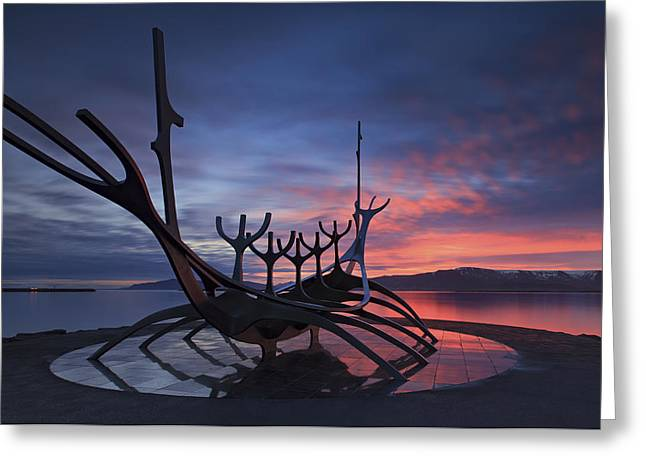 The Sun Voyager ... Greeting Card by Iurie Belegurschi