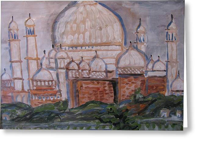 The Taj Greeting Card by Vikram Singh