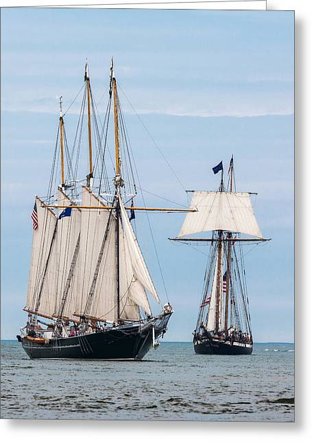 The Tall Ships Greeting Card