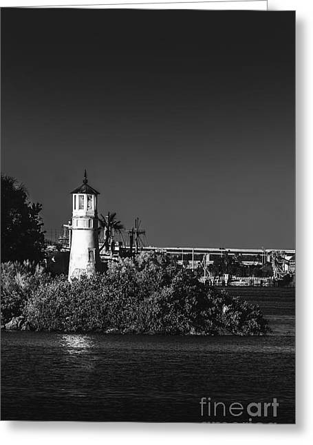 The Tampa Lighthouse Greeting Card