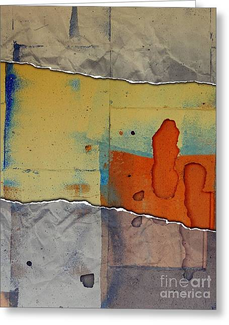 The Tear Greeting Card by Marcia Lee Jones
