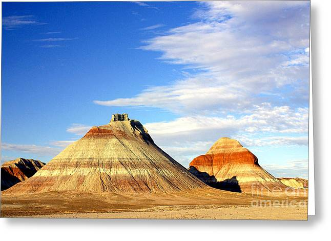 The Teepees Greeting Card by Douglas Taylor