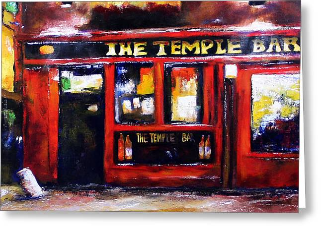 The Temple Bar Greeting Card