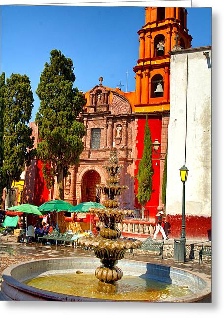 The Templo De San Francisco Greeting Card