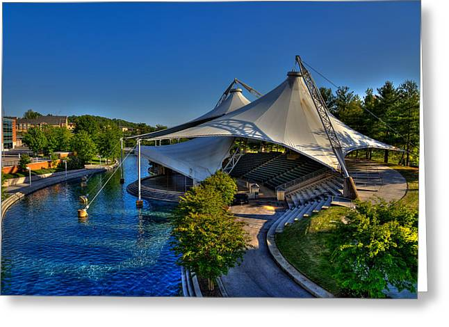 The Tennessee Amphitheater - Knoxville Tennessee Greeting Card by David Patterson