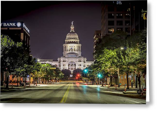 The Texas Capitol Building Greeting Card