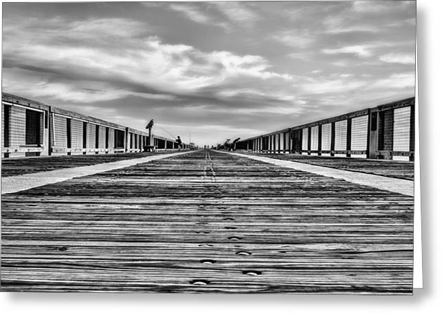 The Texture Of Navarre Beach Greeting Card by JC Findley