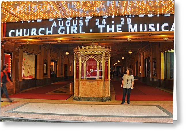 The Theater Greeting Card