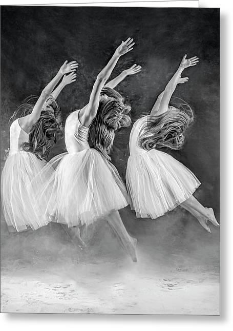 The Three Dancers Greeting Card