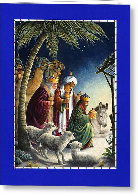 The Three Kings Greeting Card