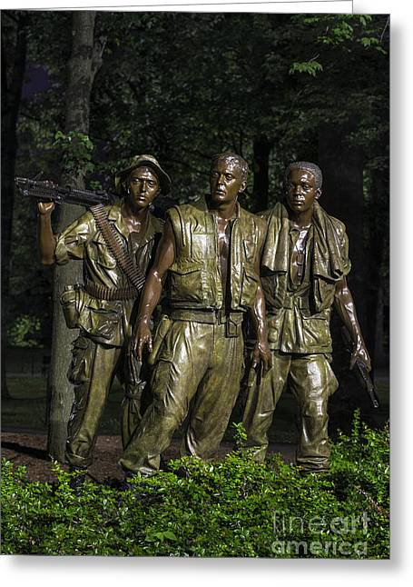 The Three Soldiers Greeting Card by John Greim