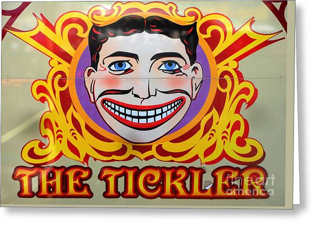 The Tickler Of Coney Island Greeting Card