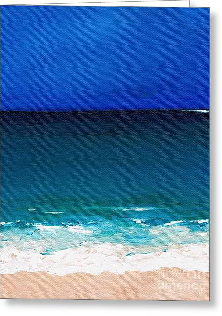 The Tide Coming In Greeting Card