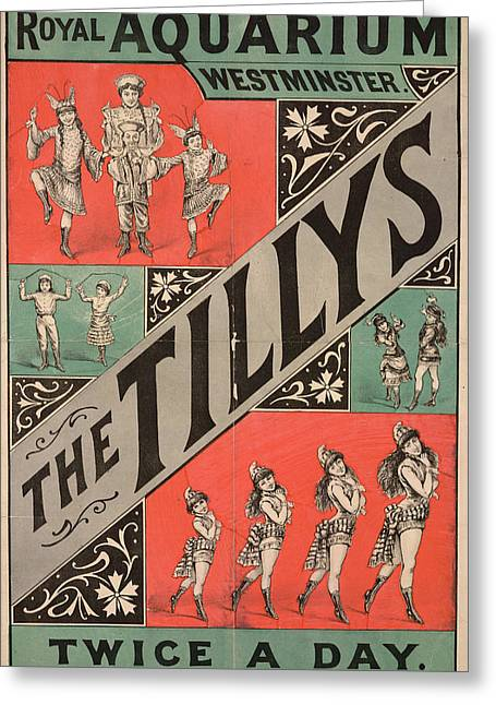 The Tillys Greeting Card by British Library