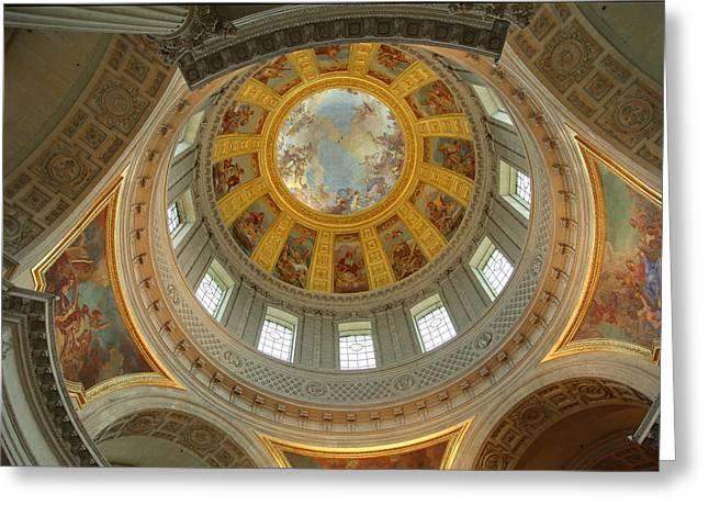 The Tombs At Les Invalides - Paris France - 01131 Greeting Card by DC Photographer