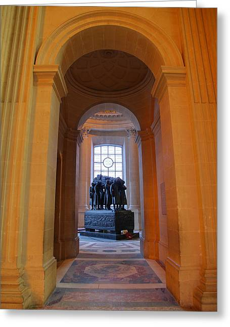 The Tombs At Les Invalides - Paris France - 011315 Greeting Card