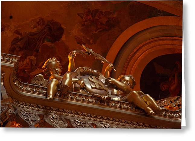 The Tombs At Les Invalides - Paris France - 011318 Greeting Card by DC Photographer